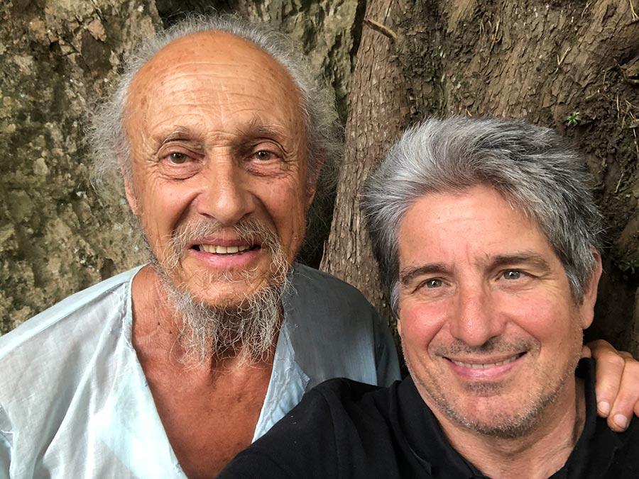 Amb en Pep Lleonart, entrevistat la primavera del 2020 a les muntanyes de Prades.